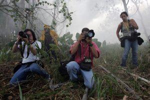 Syllabus, protocolos y consejos de seguridad para fotoperiodistas