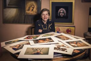 Olga Lucia Jordán en entrevista con Fotógrafo No Fotógrafo
