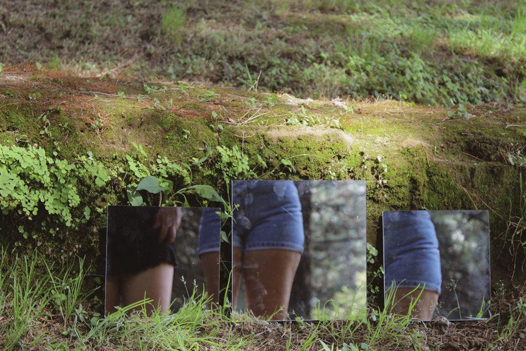 Espejos reflejados' de la fotógrafa © Alejandra Herjiz