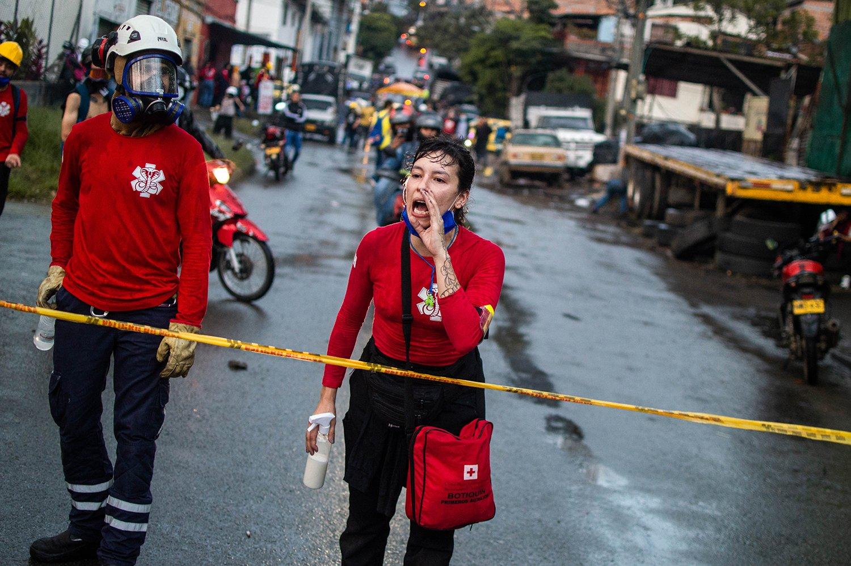 40 días de resistencia en Medellín - Paro Nacional